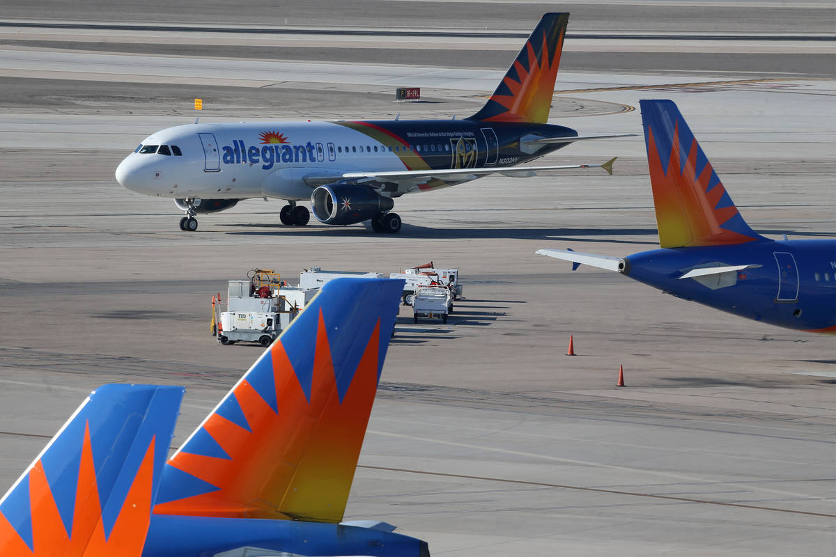 Allegiant Loses 93m In Most Turbulent Period In Industry History Las Vegas Review Journal
