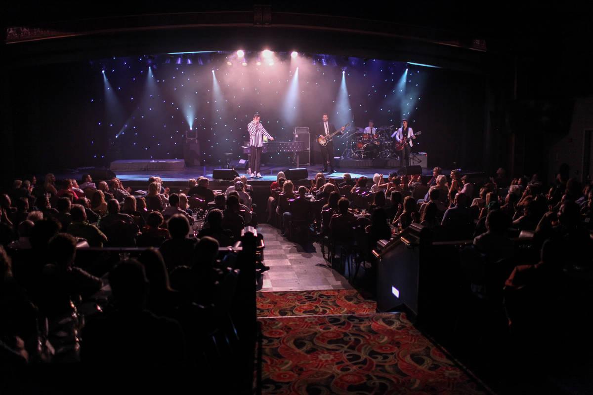 Frankie Moreno plays at the Suncoast Showroom in Las Vegas, Saturday, Sept. 9, 2017. Joel Angel ...