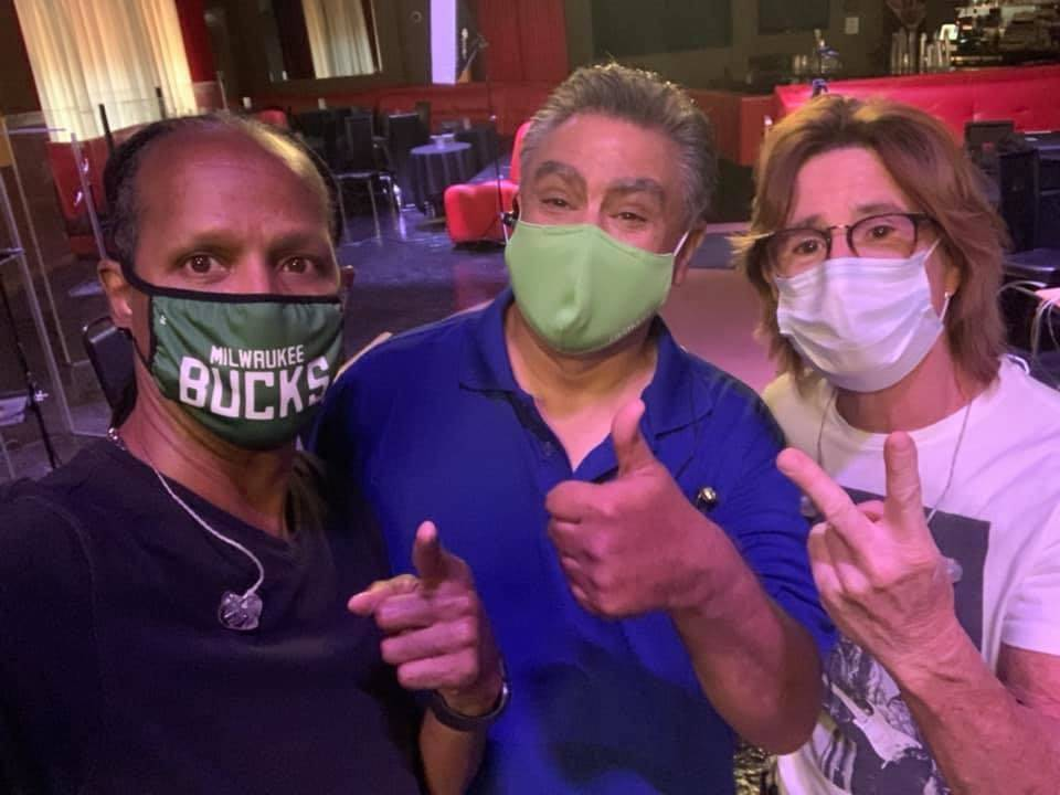 Tyriq Johnson, Lennie Lopez and Tony Davich are shown at the Copa Room at Bootlegger Bistro in ...