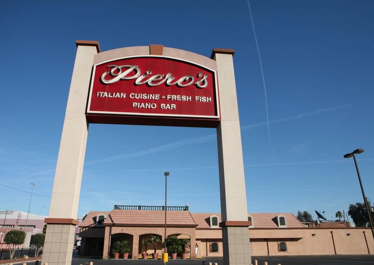 Peiro's Italian Cuisine. (Las Vegas Review-Journal file)