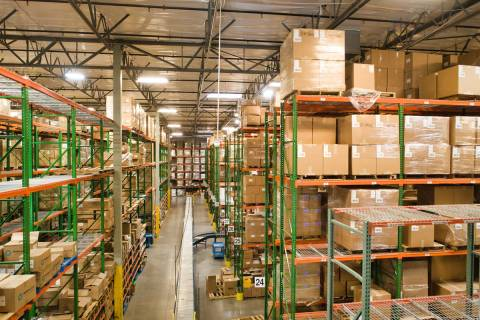 Ruby Has, a packing and delivery company, will have triple the space of its current building (p ...
