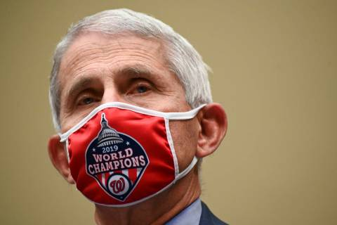 Dr. Anthony Fauci, director of the National Institute for Allergy and Infectious Diseases, arri ...