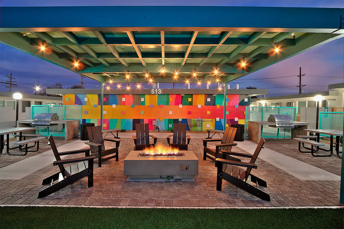 Downtown Las Vegas offers urban living with Stax Studios's 44 renovated units at 501 S. 10th St ...