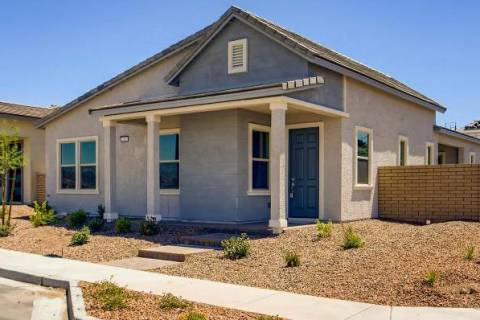 Cadence homes available for quick move-in include the Jasmine model inside the Gardens at the P ...