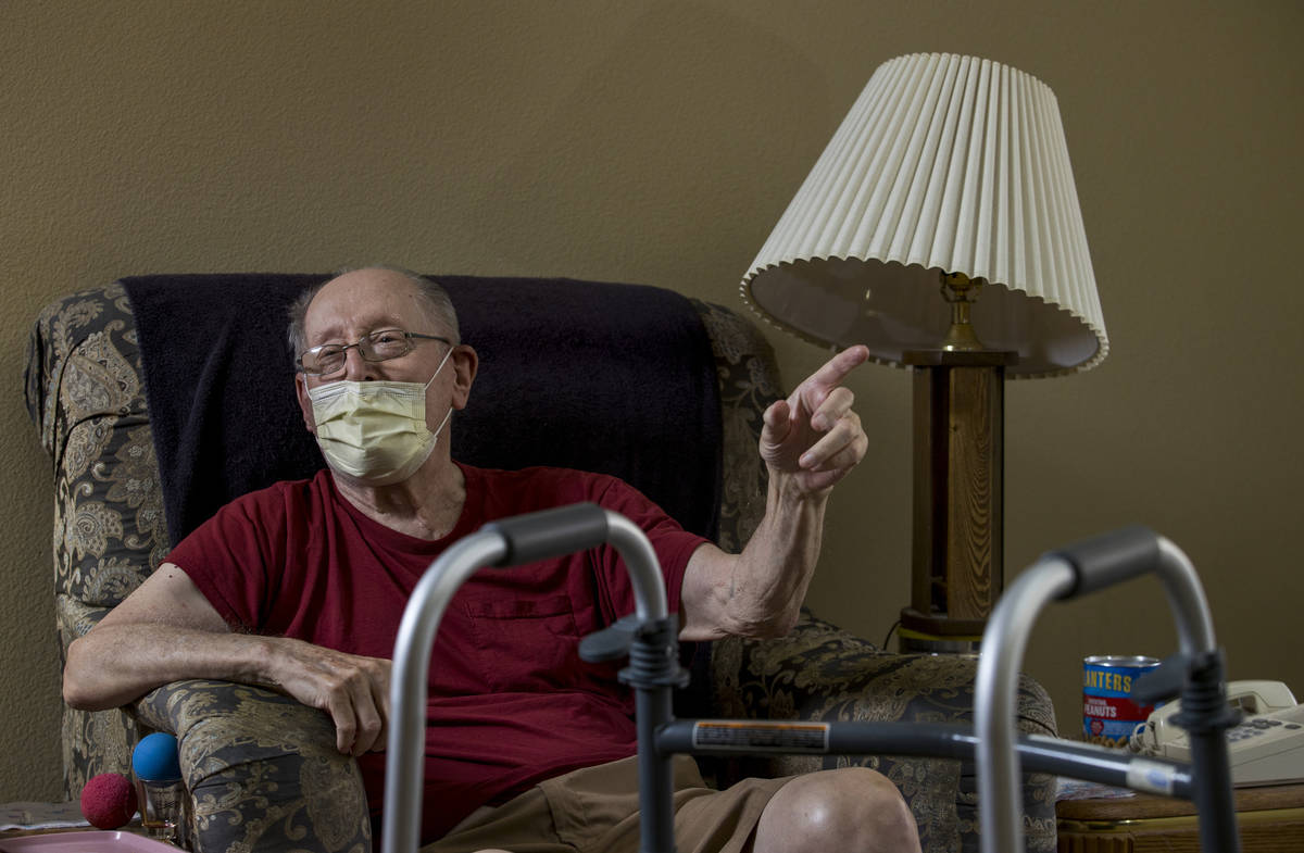 Rich Metzger lost his longtime partner, 80-year-old Phyllis Wyant, who was discharged from The ...