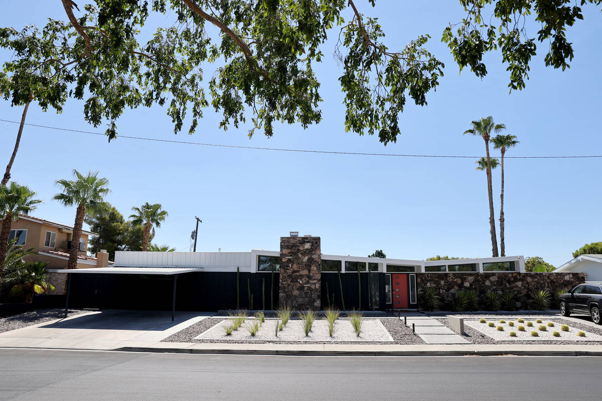 A home at 3398 Seneca Drive in the Paradise Palms neighborhood in Las Vegas Thursday, July 30, ...