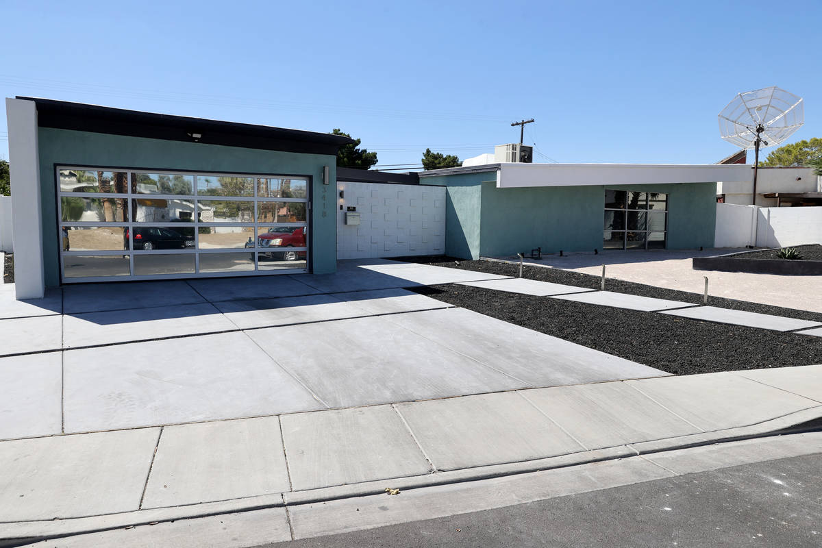 A home at 3418 Seneca Drive in the Paradise Palms neighborhood in Las Vegas Thursday, July 30, ...