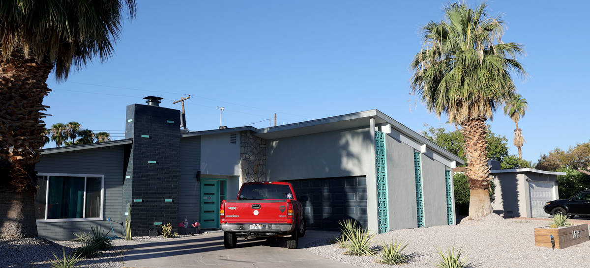 A home at 1571 Golden Arrow Drive in the Paradise Palms neighborhood in Las Vegas Friday, July ...