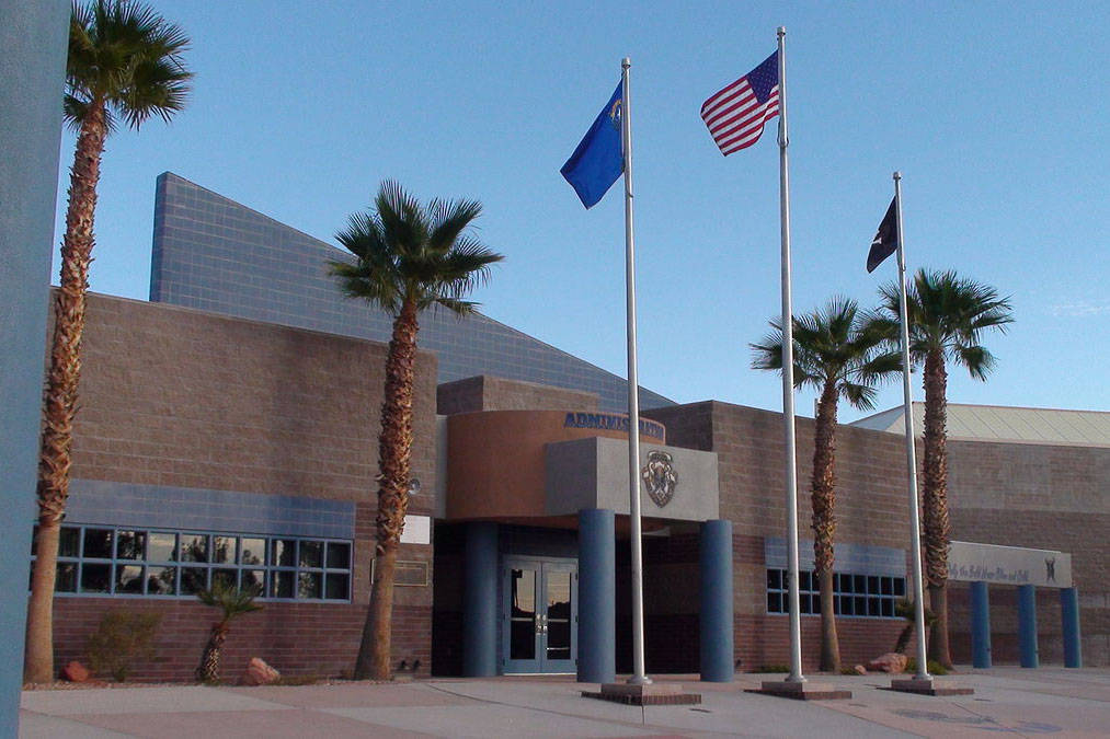 School leaders from Moapa Valley High School in Overton, as well as some other rural schools, h ...