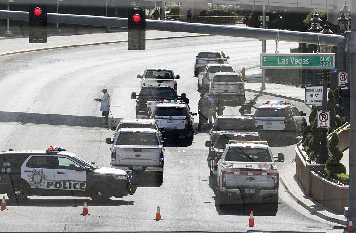The Metropolitan Police Department is investigating a fatal crash just east of Las Vegas Strip ...