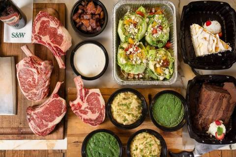 Smith & Wollensky offers full menu for takeout or Steak-ation at Home grilling packages. (Smith ...