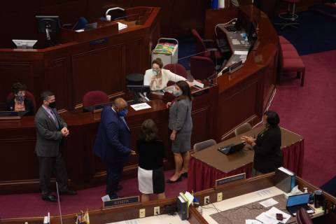 The Assembly on Tuesday, Aug. 4, 2020 during the fifth day of the 32nd Special Session of the L ...