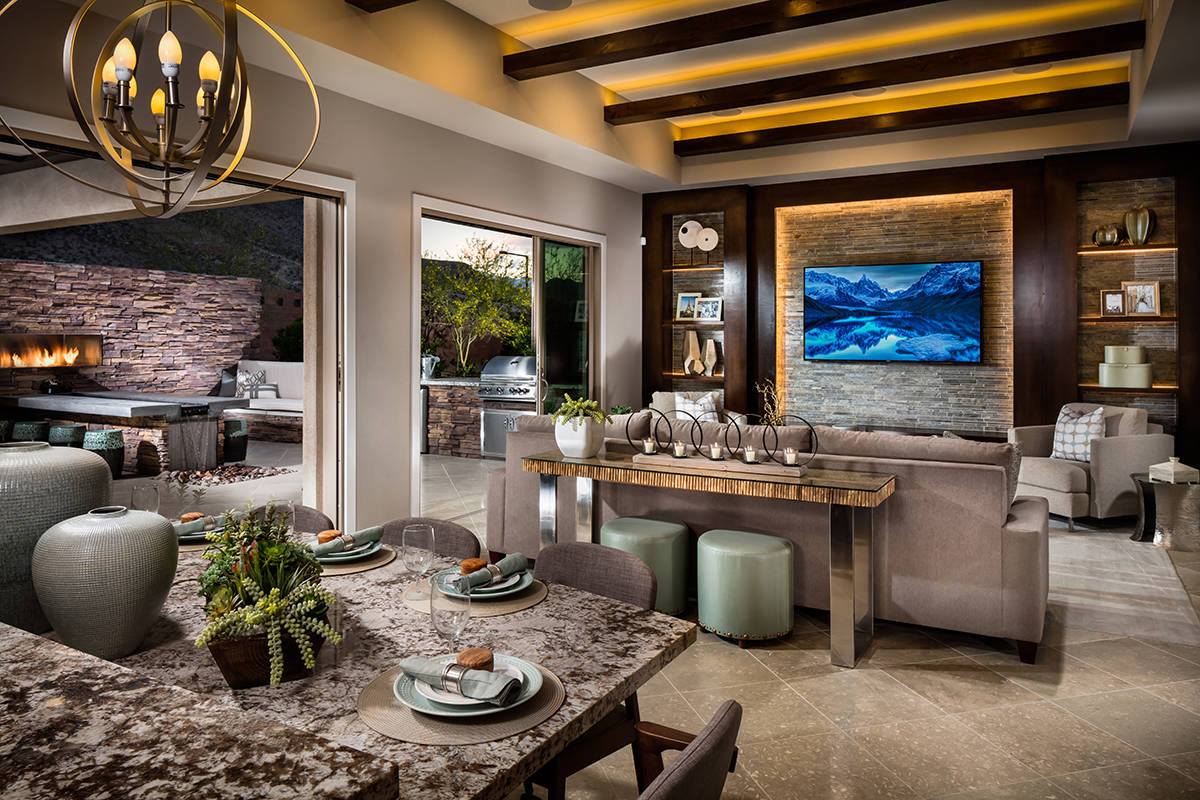 Regency by Toll Brothers, an age-qualified community in Summerlin, offers detached single-famil ...