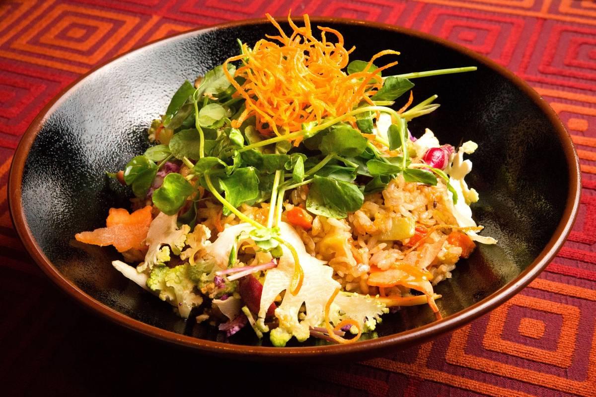 Twenty Vegetable Fried Rice at China Poblano. (China Poblano)