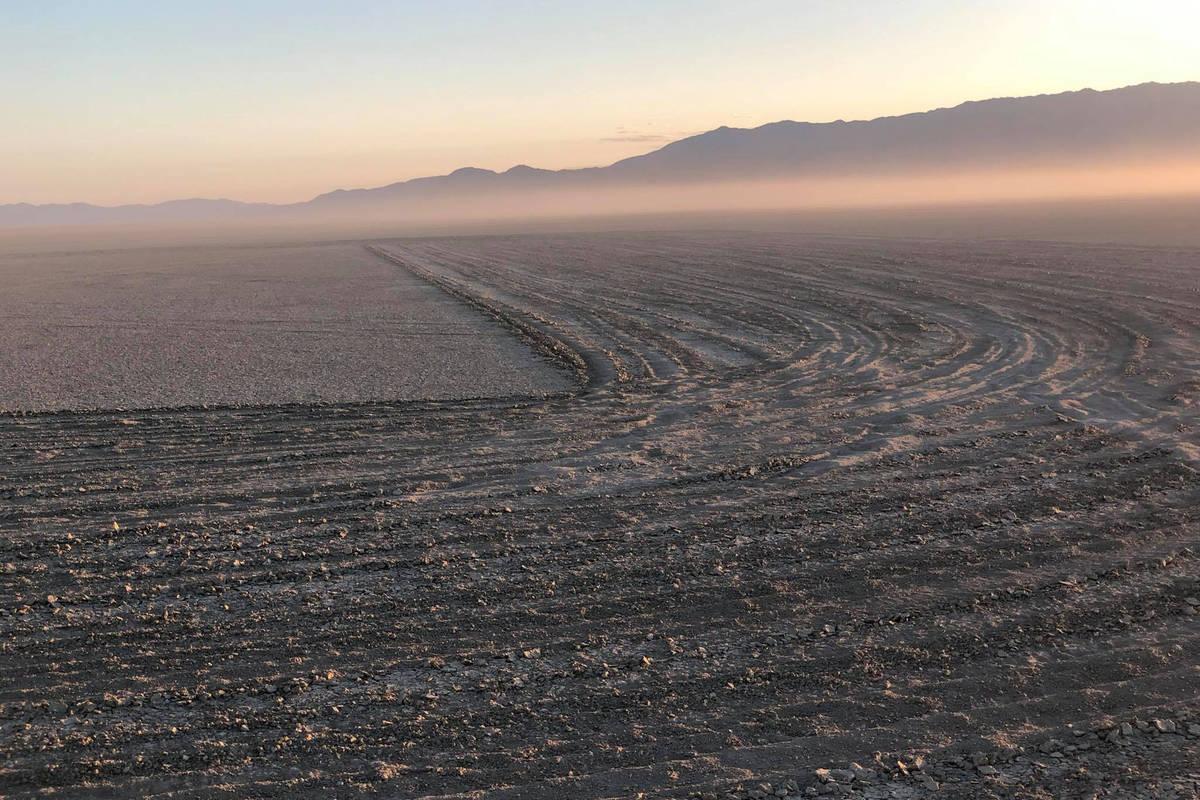The desert at Black Rock-High Rock Emigrant Trails National Conservation Area is pictured. Este ...