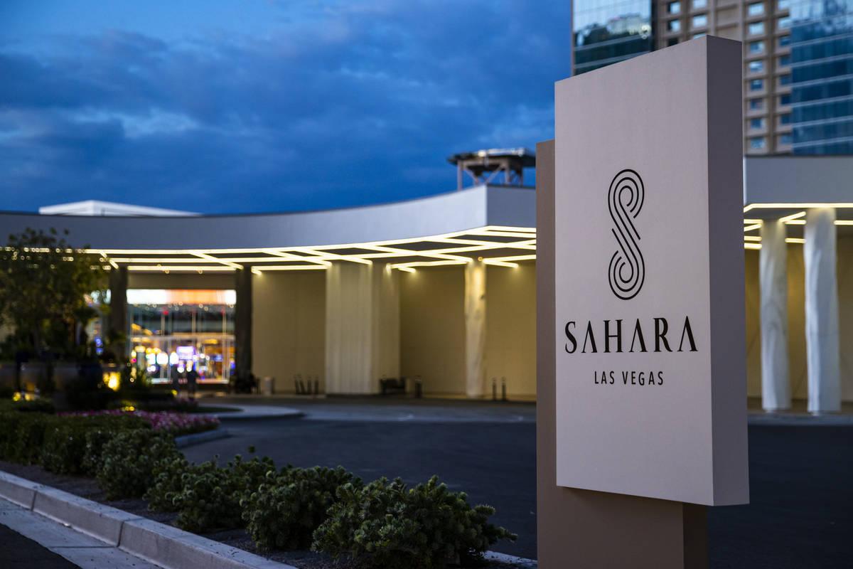 Sahara Las Vegas. (Chase Stevens/Las Vegas Review-Journal) @csstevensphoto