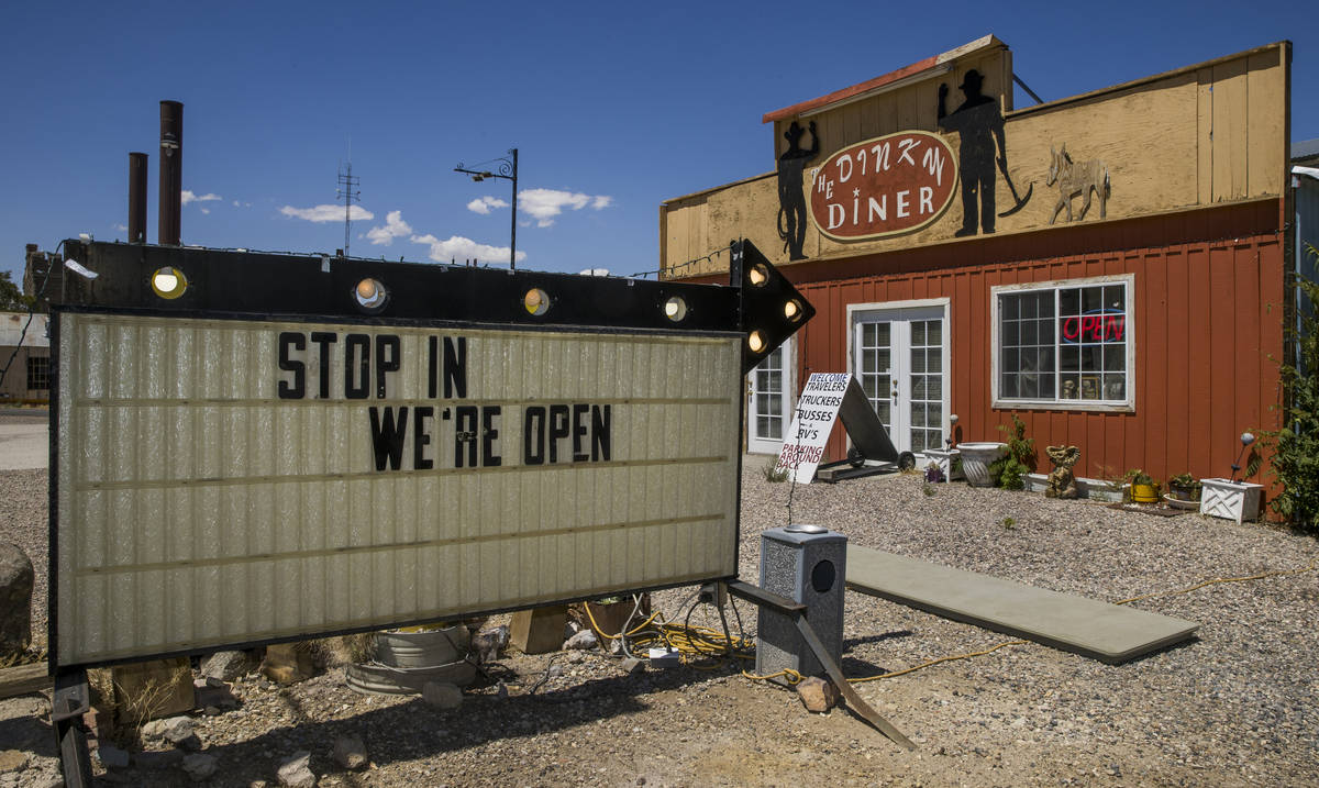The Dinky Diner is currently open for seating in Goldfield along I-95 and apart of Esmeralda Co ...