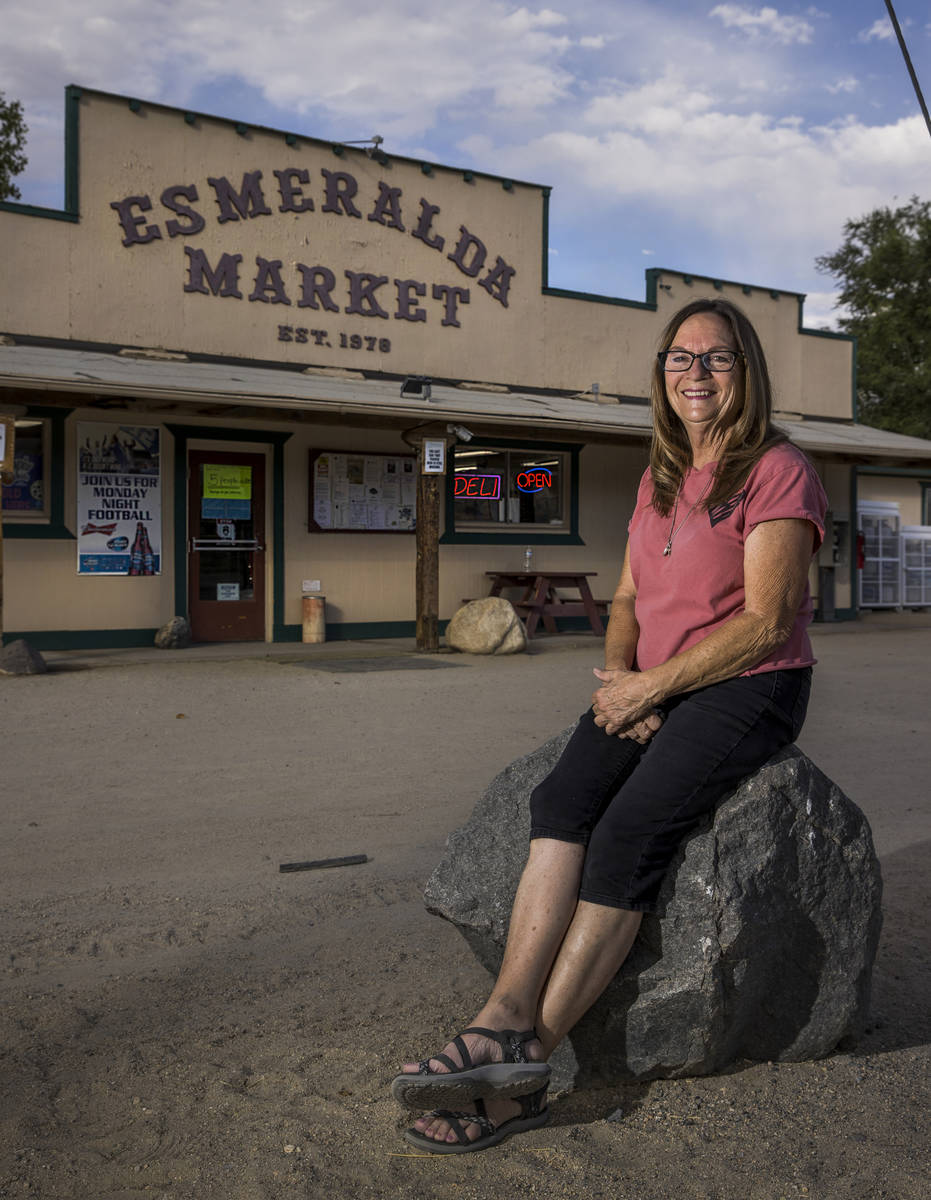 Linda Williams and her family established and operated the Esmeralda Market for 42 years which ...