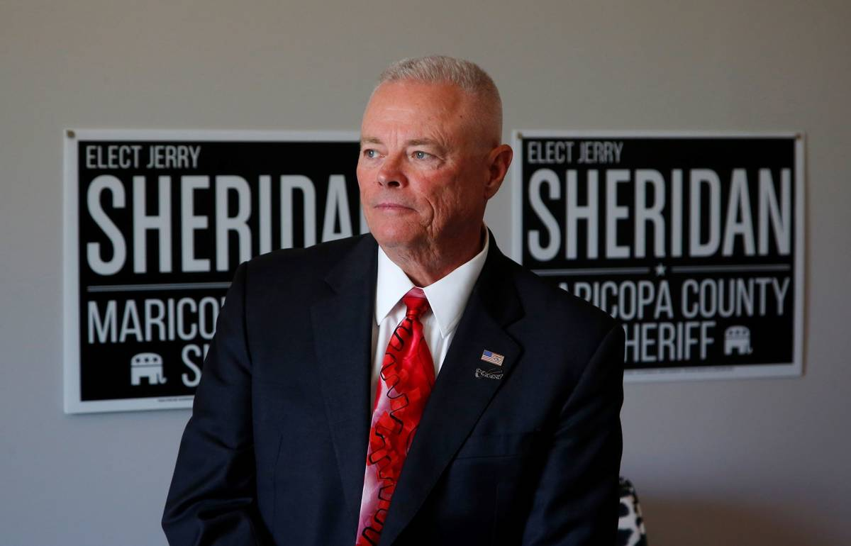 Long time law enforcement officer at the Maricopa County Sheriff's Office, Jerry Sheridan, is r ...