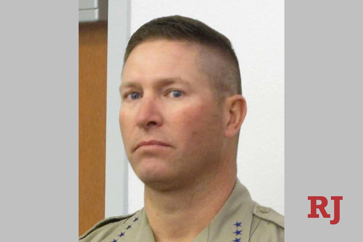 Douglas County (Nevada) Sheriff Dan Coverley (AP)