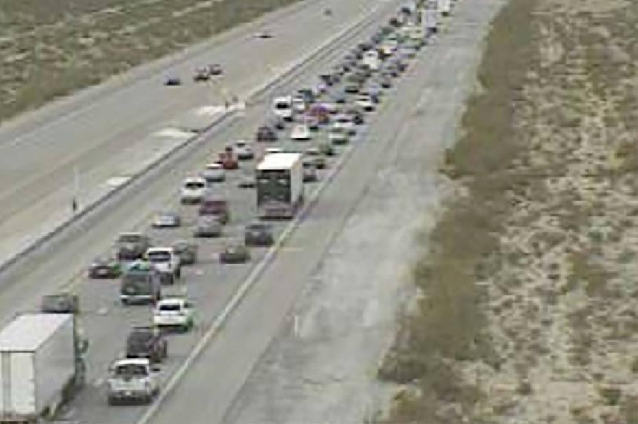Interstate 15 traffic near Primm (RTC cameras)