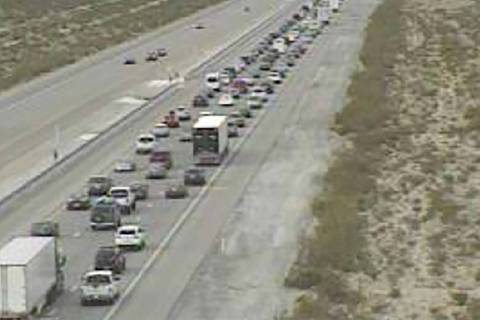 Interstate 15 traffic near Primm (RTC cameras)