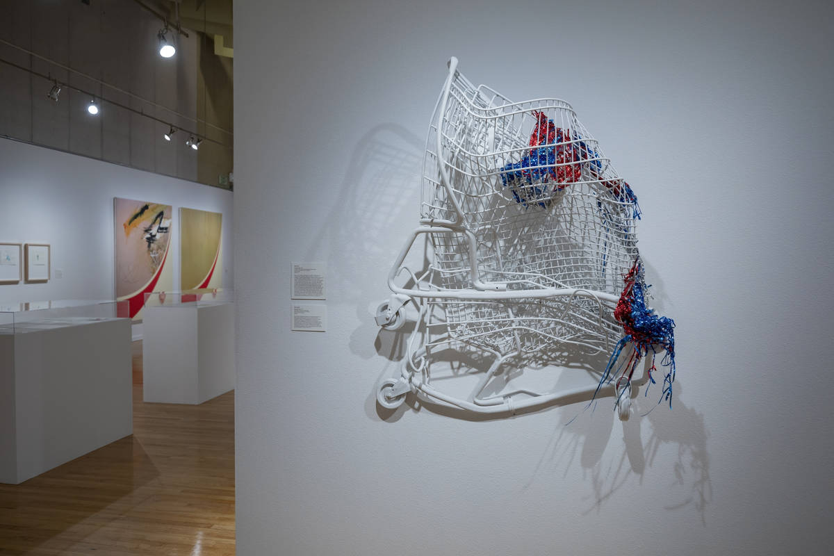 "Brent Holmes' ""Superbia Civilis"" is featured in the exhibit ""Excerpts"" at UNLV's Marjorie Barri ..."