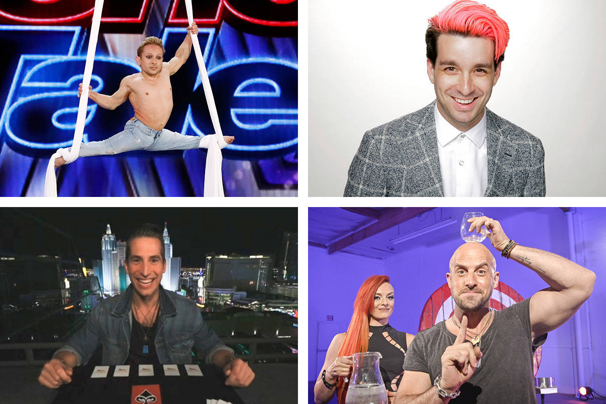 """Four Las Vegas contestants are set to appear on the no-audience format of """"America's Got Ta ..."""