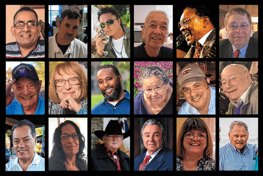 This image shows some of the more than 1,000 Nevadans who have died from COVID-19.