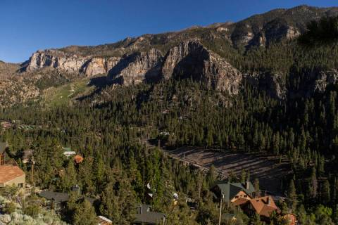 Mount Charleston on Tuesday, July 7, 2020, near Las Vegas. (Benjamin Hager/Las Vegas Review-Jou ...