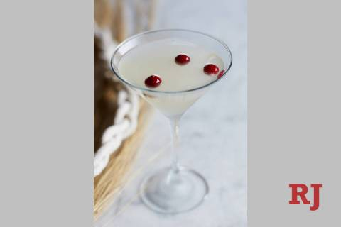 The Sharktini at Bonefish Grill. (Bonefish Grill)