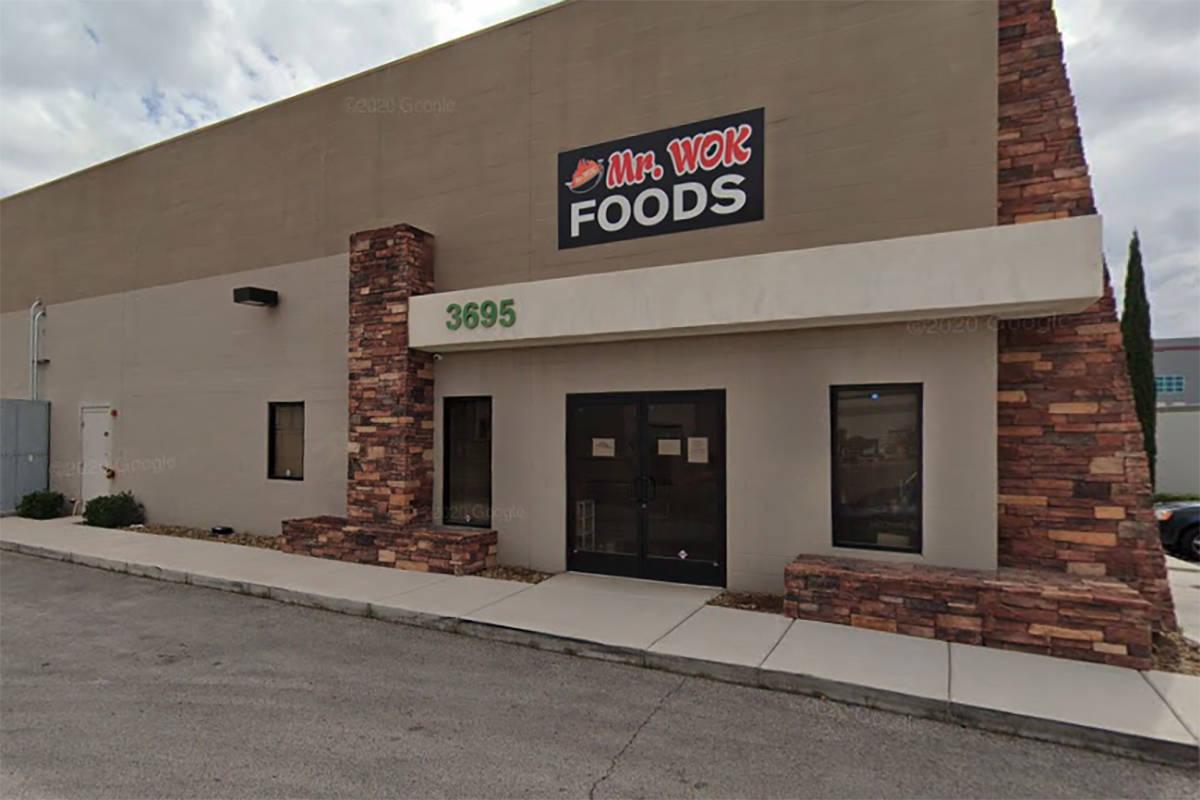 Mr. Wok, 3695 E. Post Road, Las Vegas (Google)