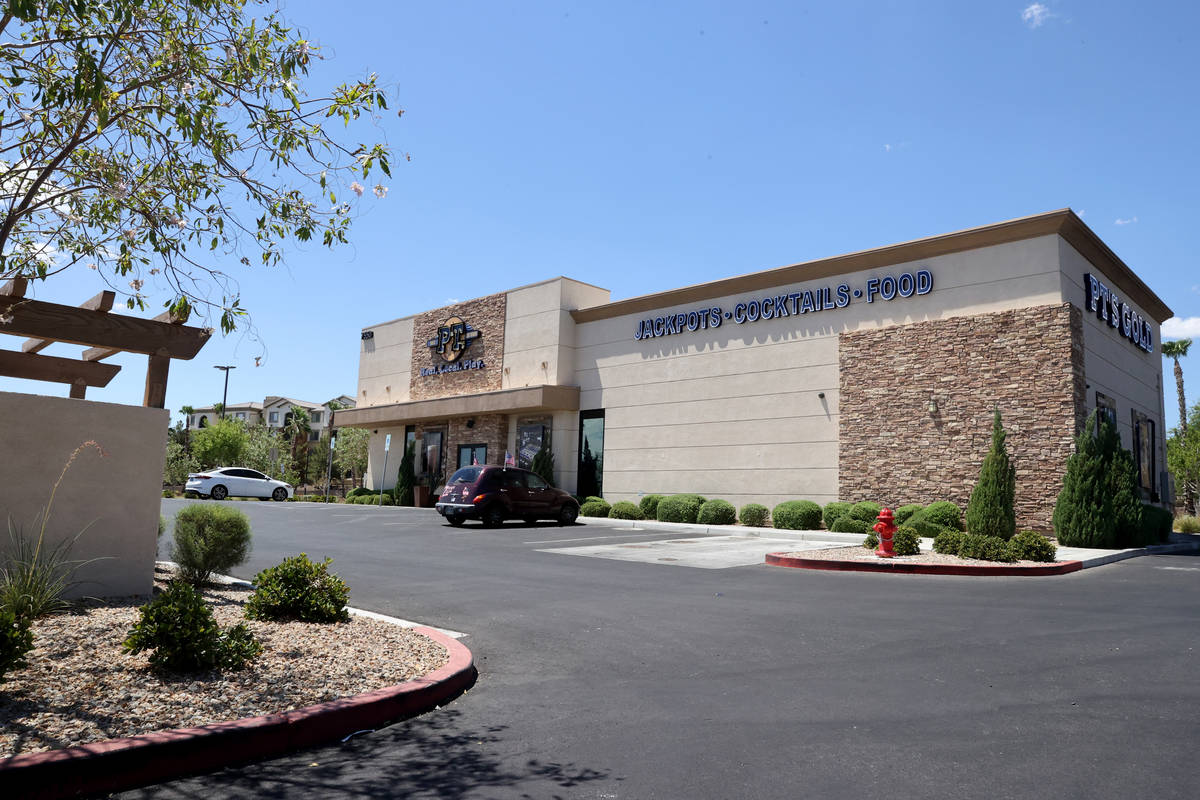 The PT's Gold at 7550 Oso Blanca Road in northwest Las Vegas, pictured on Tuesday, Aug. 11, 202 ...