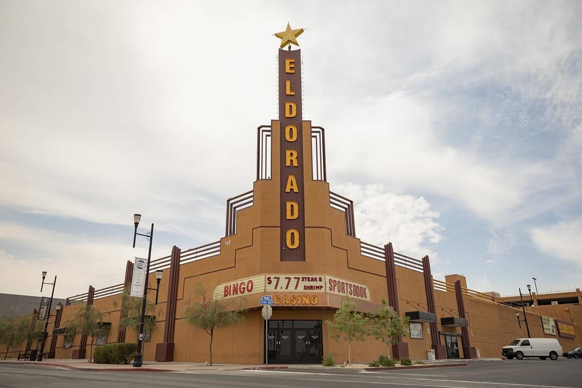 Eldorado Casino is seen temporarily closed in Henderson on Thursday, Aug. 13, 2020. (Elizabeth ...