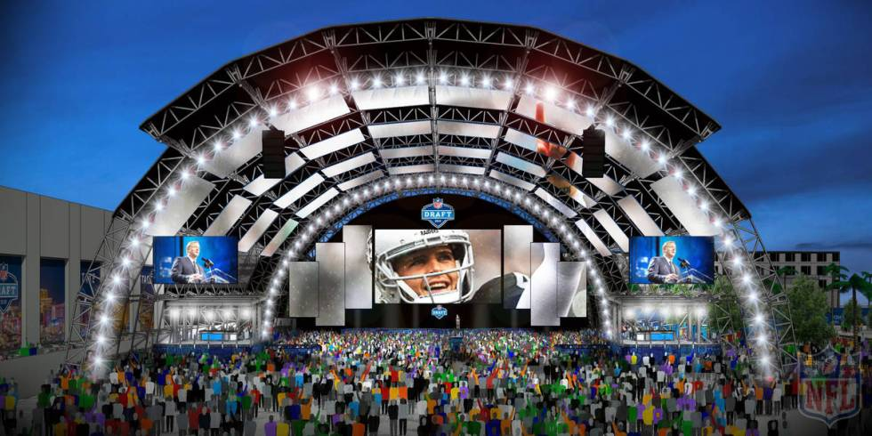 The next batch of NFL stars will hear their names called in the 2020 NFL Draft outside of Caesa ...