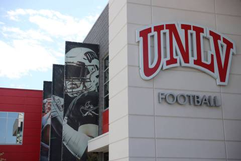 Fertitta Football Complex in Las Vegas, Tuesday, Aug. 11, 2020. (Erik Verduzco / Las Vegas Revi ...