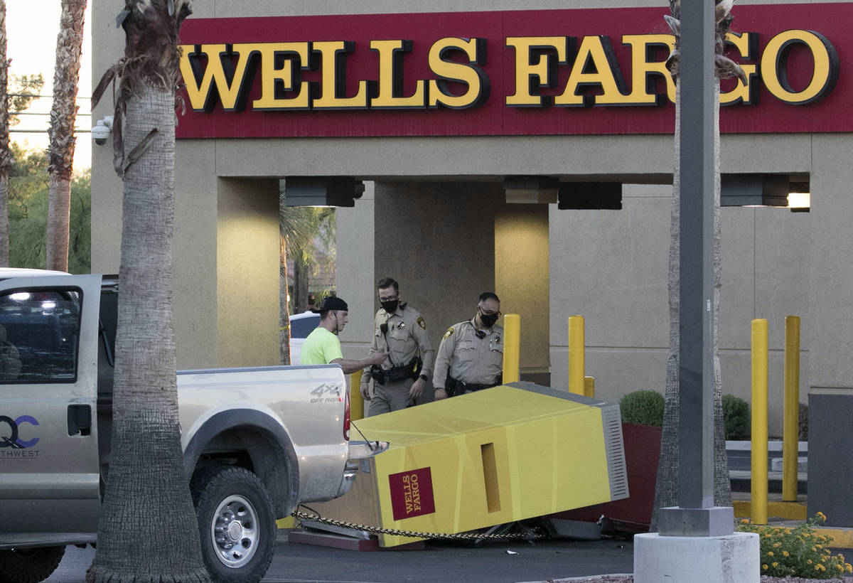 The Metropolitan Police Department is investigating an apparent failed attempt to drag an ATM m ...