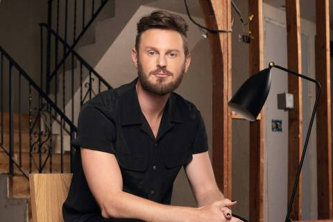 Celebrity designer Bobby Berk put his well-known signature on Pardee's Sandalwood's Plan One ...