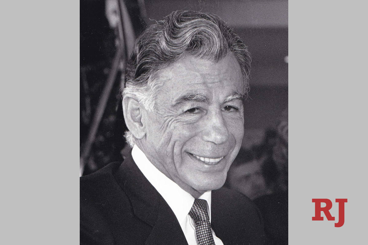 MGM Resorts said Wednesday, Aug. 12, 2020, that the estate of Kirk Kerkorian (pictured) donated ...