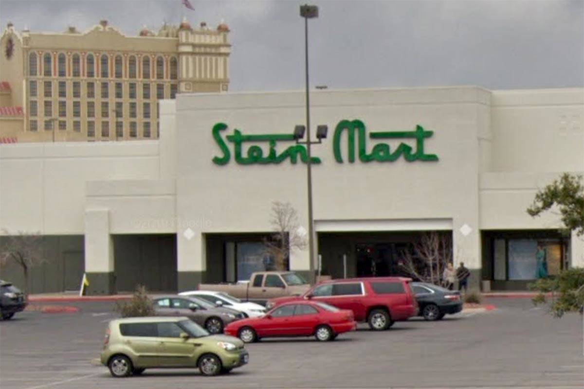 Stein Mart at 500 N. Stephanie Street in Henderson is seen in a screenshot. (Google)