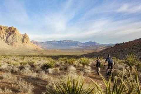 Summerlin's popular trail system is about to get even better as part of a larger planned Clar ...