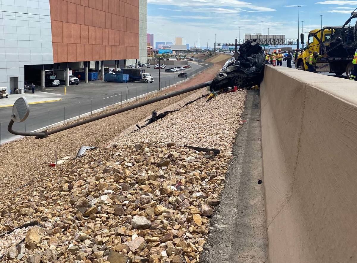 The Nevada Highway Patrol is investigating a fatal two-vehicle crash on northbound Interstate 1 ...