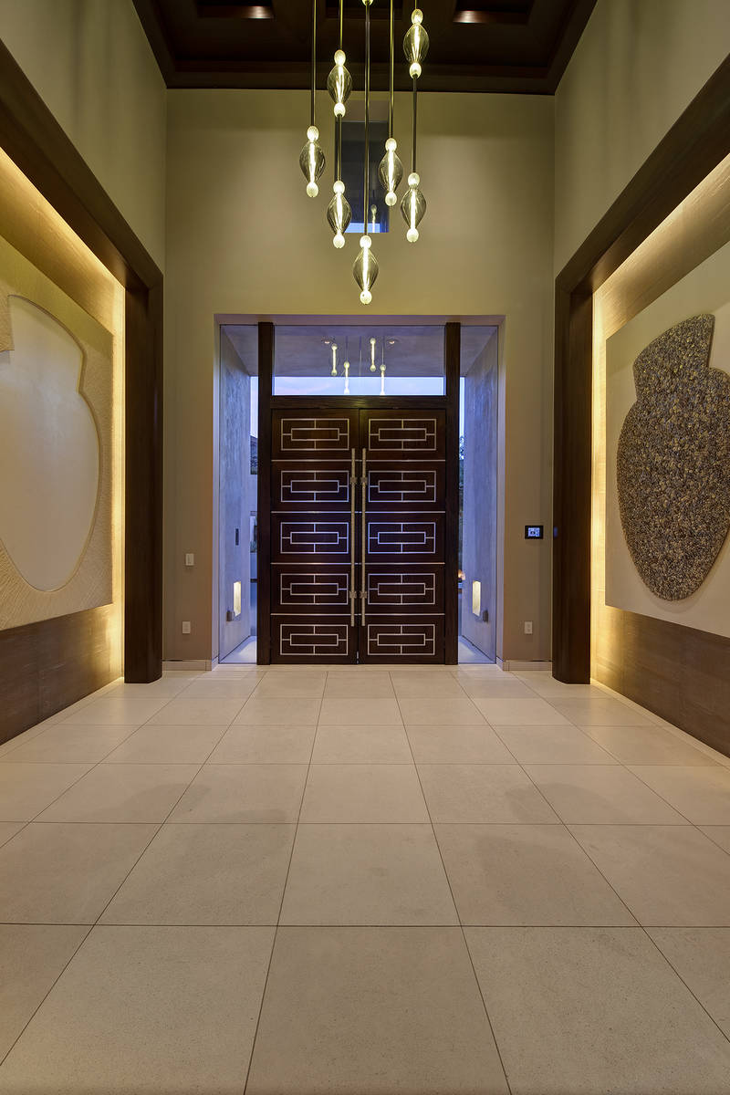 The entrance. (Synergy Sotheby's International Realty)