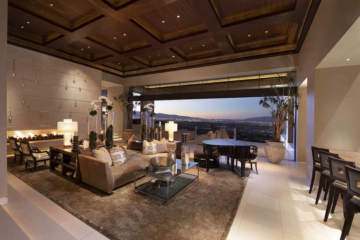 The formal living room. (Synergy Sotheby's International Realty)