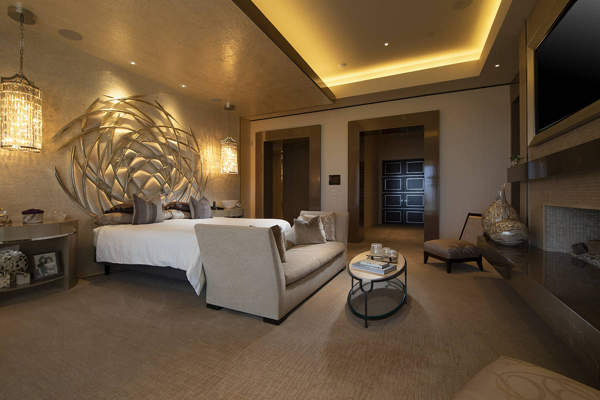 The master bedroom. (Synergy Sotheby's International Realty)