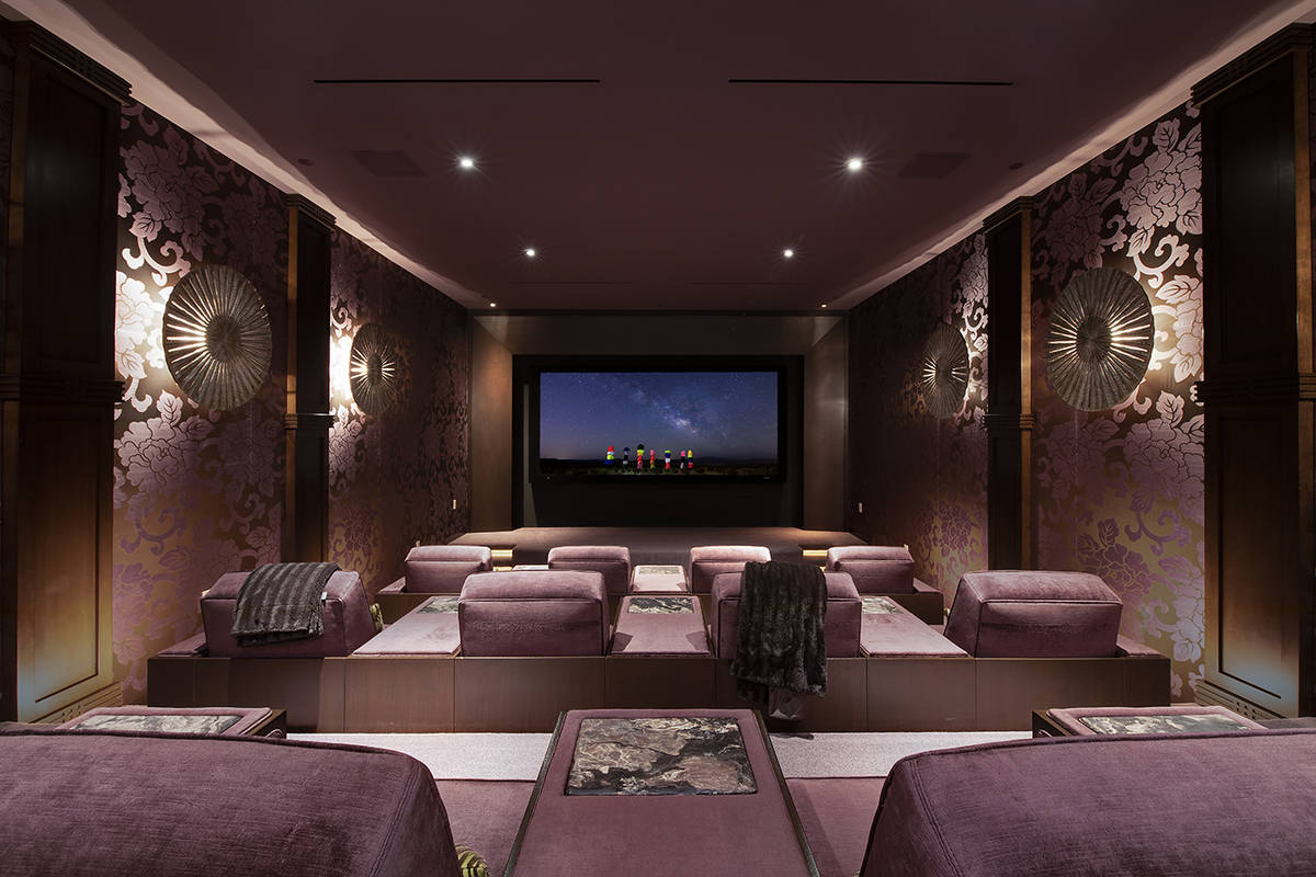 The home theater. (Synergy Sotheby's International Realty)