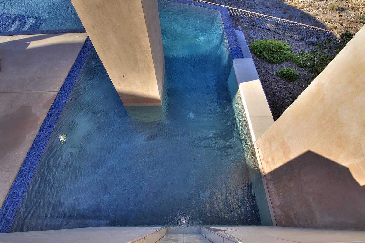 The home has several water features. (Synergy Sotheby's International Realty)