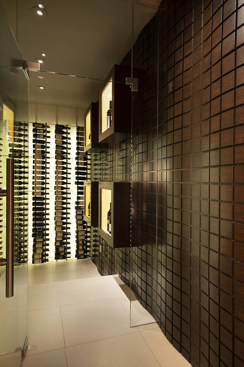 The wine room. (Synergy Sotheby's International Realty)