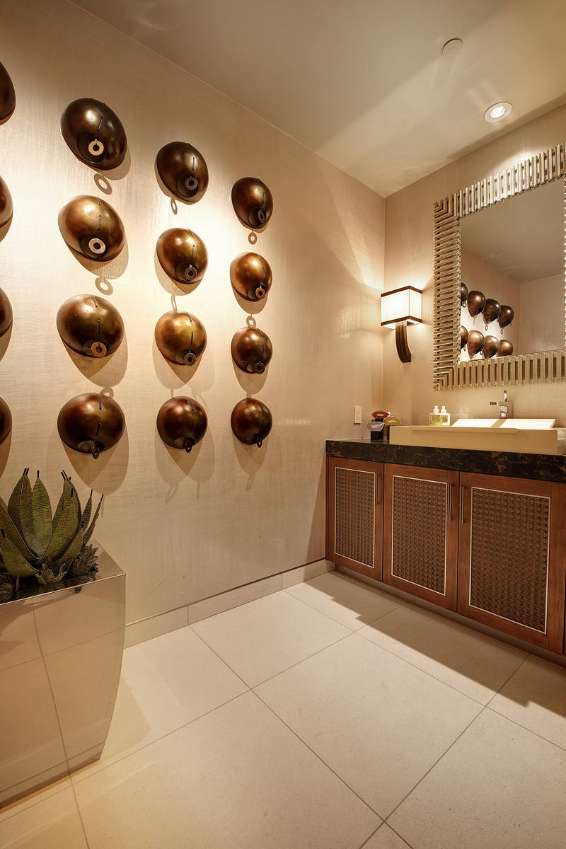One of 10 baths in the home. (Synergy Sotheby's International Realty)