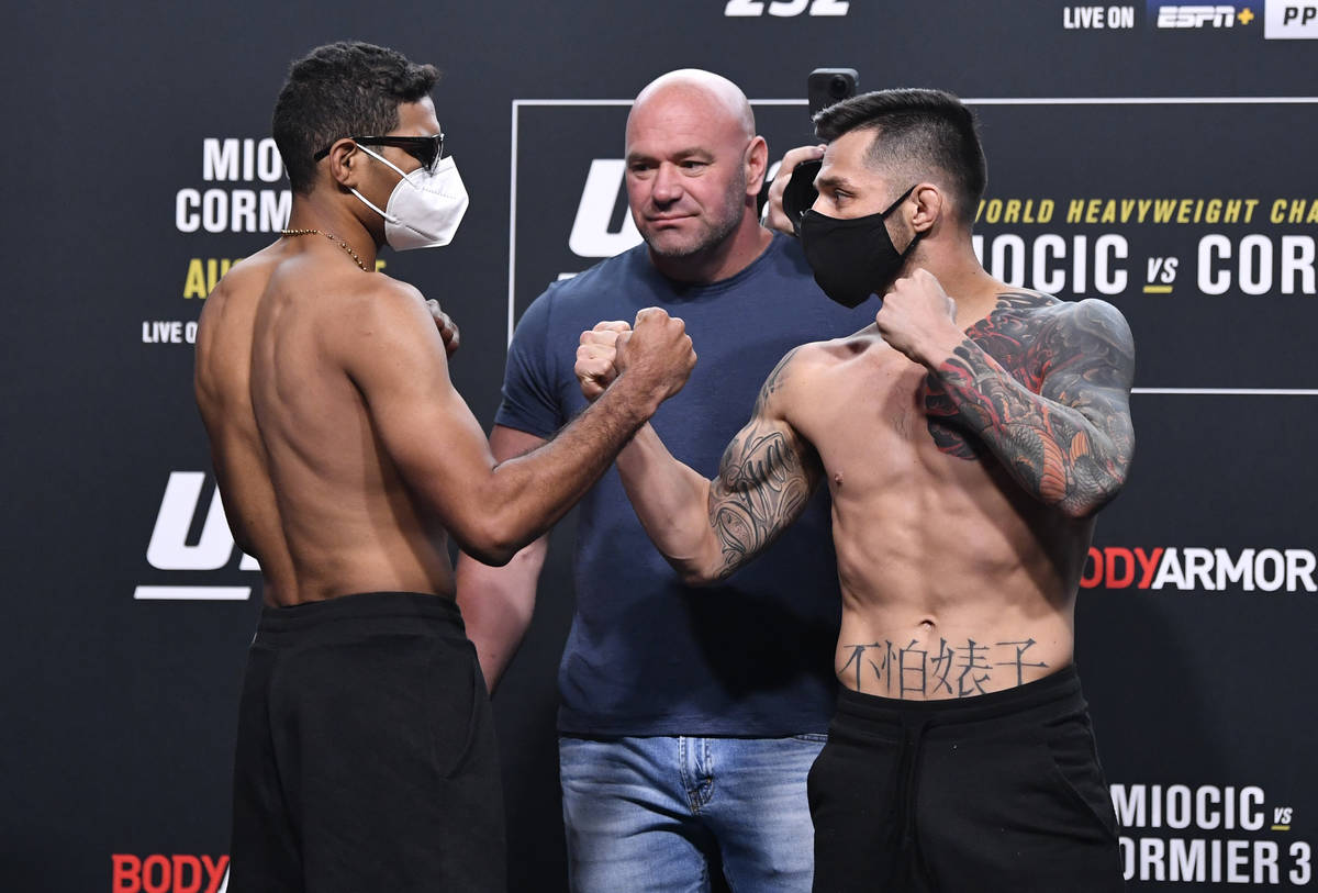 Ufc 252 Main Card Picks And Preview Las Vegas Review Journal